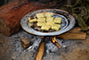 Ba Be National Park - vietnam: sticky rice cake or Banh Trung - vietnamese cuisine - photo by Tran Thai