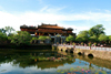 Hue - Vietnam: Imperial Citadel - causeway - photo by Tran Thai