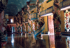 Vietnam - Cao-Dai temple: inside - photo by N.Cabana