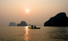 Halong Bay - Vietnam: kayaking at sunset - photo by Tran Thai