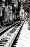 Hanoi - Vietnam: backyard railway - photo by Nacho Cabana