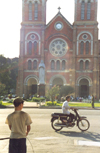 Ho Chi Minh city / Saigon: facing the virgin (photo by Nacho Cabana)