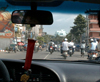 Ho Chi Minh city / Saigon: driving into town (photo by Robert Ziff)