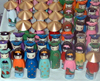 Ho Chi Minh city / Saigon: vietnamese dolls Ben Thanh market (photo by Robert Ziff)