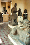 Vietnam - Danang / Tourane: Cham statuary - Cham museum - photo by G.Frysinger