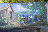 Tortola: Butu Mountain - Ridge road - the Wall - evening relaxation - mural - painting (photo by David Smith)