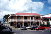 US Virgin Islands - Saint Thomas: Charlotte Amalie - Market square and Kronprindsens Gade (photo by M.Torres)
