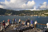 St. Thomas - USVI : Charlotte Amalie from a cruise ship - deck (photo by David Smith)