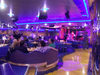 USVI - St. Thomas - purple lounge - Costa Magica luxury ocean liner - photo by G.Friedman