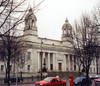 Wales / Cymru - Cardiff: neo-classical - Cardiff Crown Court - Cathays Park - photo by M.Torres