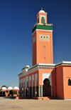 Laâyoune / El Aaiun, Saguia el-Hamra, Western Sahara: Moulay Abdel Aziz Great Mosque - photo by M.Torres