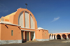 Laâyoune / El Aaiun, Saguia el-Hamra, Western Sahara: Spanish Cathedral of St Francis of Assisi - photo by M.Torres