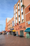 La�youne / El Aaiun, Saguia el-Hamra, Western Sahara: Hotels Jodesa and Mekka - Blvd de Mekka - photo by M.Torres