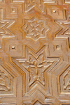 Laâyoune / El Aaiun, Saguia el-Hamra, Western Sahara: Moulay Abdel Aziz Great Mosque - wood carved door - photo by M.Torres