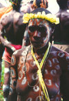 West Papua / Irian Jaya - Owus village: woman (photo by G.Frysinger)
