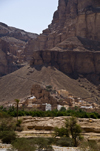 Wadi Hadhramaut, Hadhramaut Governorate, Yemen: traditional village at the base of a mountain - photo by J.Pemberton