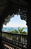 Stone Town, Zanzibar / Unguja Mjini, Tanzania: Old Dispensary - Stone Town Cultural Centre - view from the balcony - photo by M.Torres