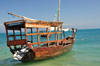 Stone Town, Zanzibar, Tanzania: Marlie in Paradise - dhow in Shangani - photo by M.Torres