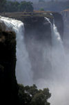 Victoria Falls - Mosi-oa-tunya, Matabeleland North province, Zimbabwe: an average of 500,000 cubic metres of water plunge over the edge every minute - photo by C.Lovell