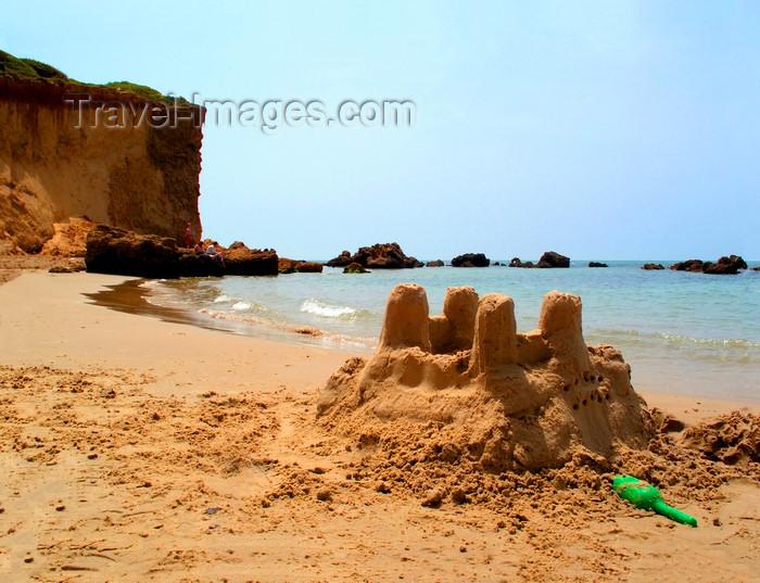 Israel375 Kibbutz Sdot Yam Israel Sand Castle Beach Scene Photo By
